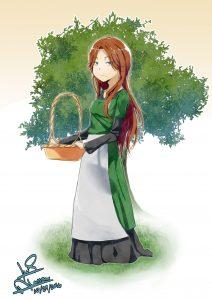 Peasant girl peasant-girl