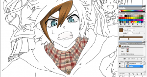 Coloring kills me… but I must do it!! Coloring_Kills_Me…_But_I_must_do_it!!