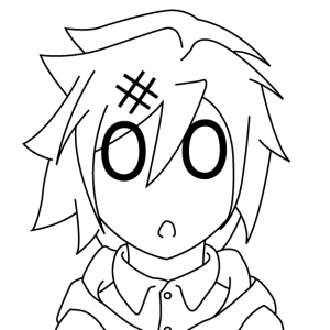 Working on one of the illustrations for my light novel, I ended up making a sketch of the main chara